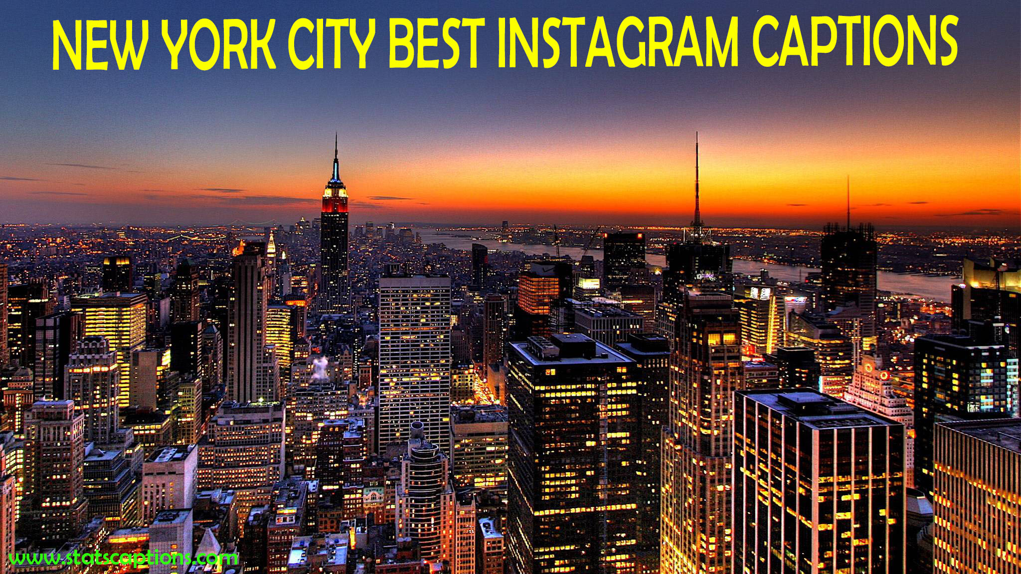 New York Instagram captions