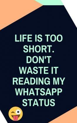 Whatsapp Status Life