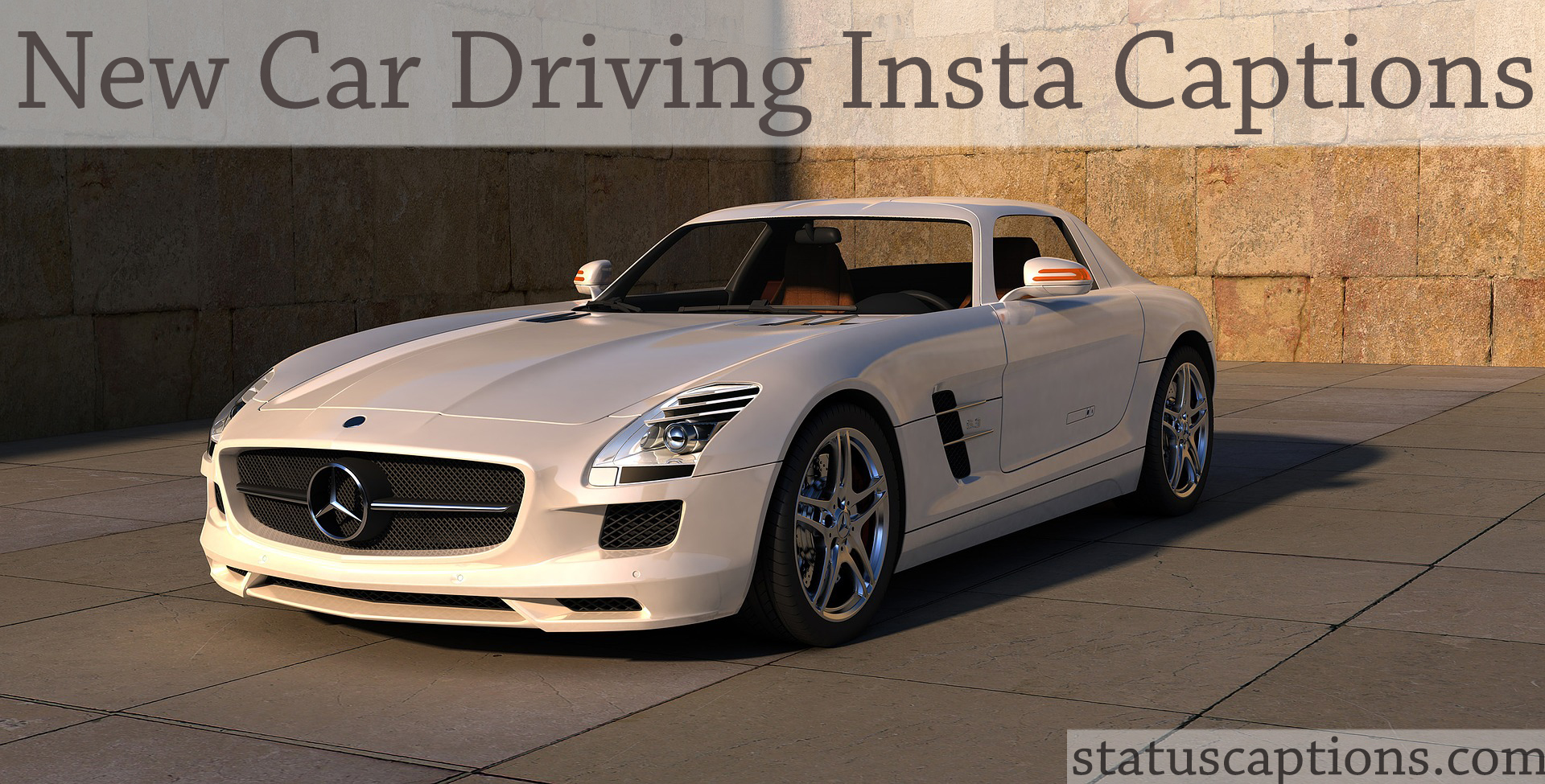 150 Top New Car Instagram Captions In English For You
