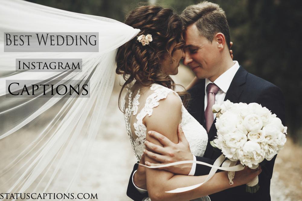 best wedding captions